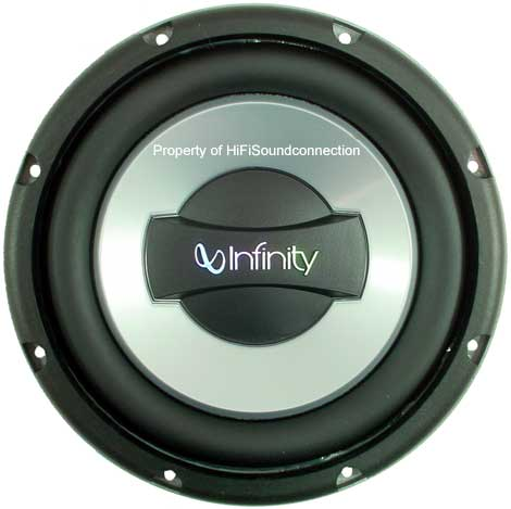 Infinity 1052w Car Audio 10 Quot Subwoofer 1000w Speaker New