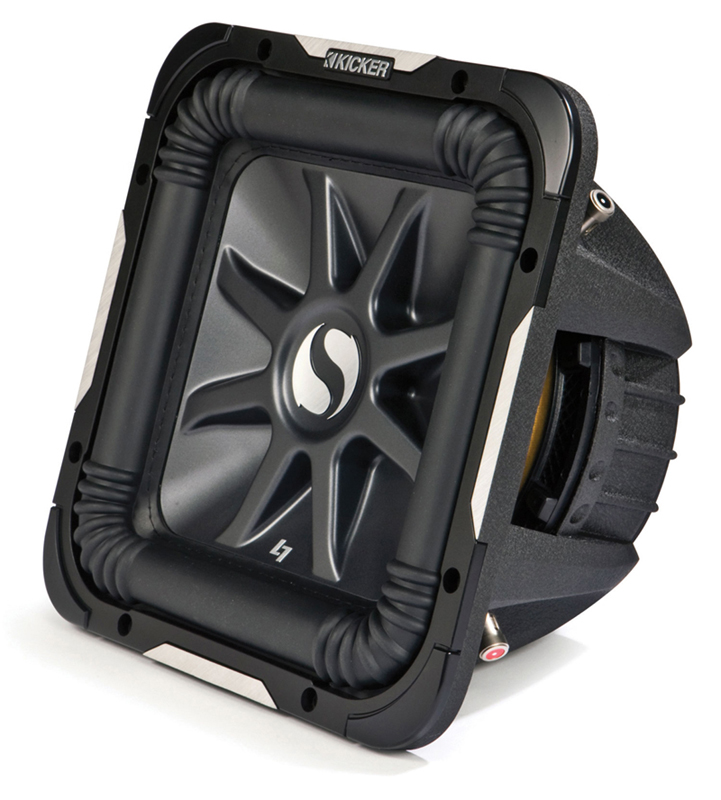 "Kicker 11S10L7D2-N Car Audio Solobaric 10"" L7 Dual 2 Ohm 1200W Subwoofer"