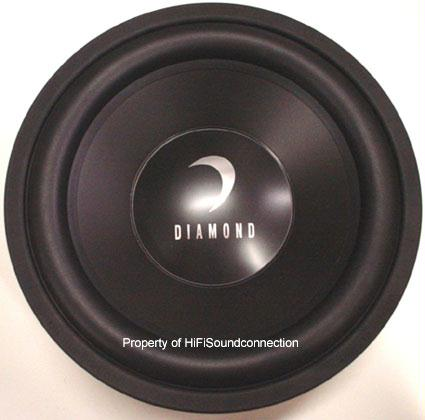 "Diamond Audio CM310D4 10"" Car Audio Subwoofer Dual Voice Coil"