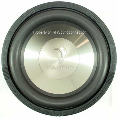 Diamond D110D4 Car Audio 10 IN Sub Woofer 400W Speaker
