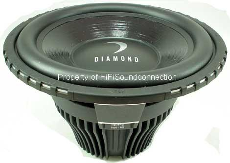"Diamond D910D2 Car Audio 10"" Sub Woofer D9 Speaker"