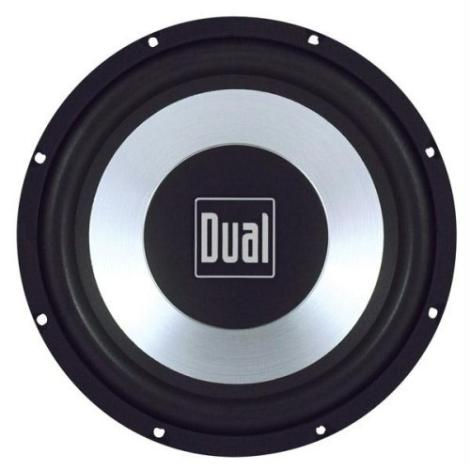 Dual DS10 Car Sub 10 Inch Subwoofer 375W