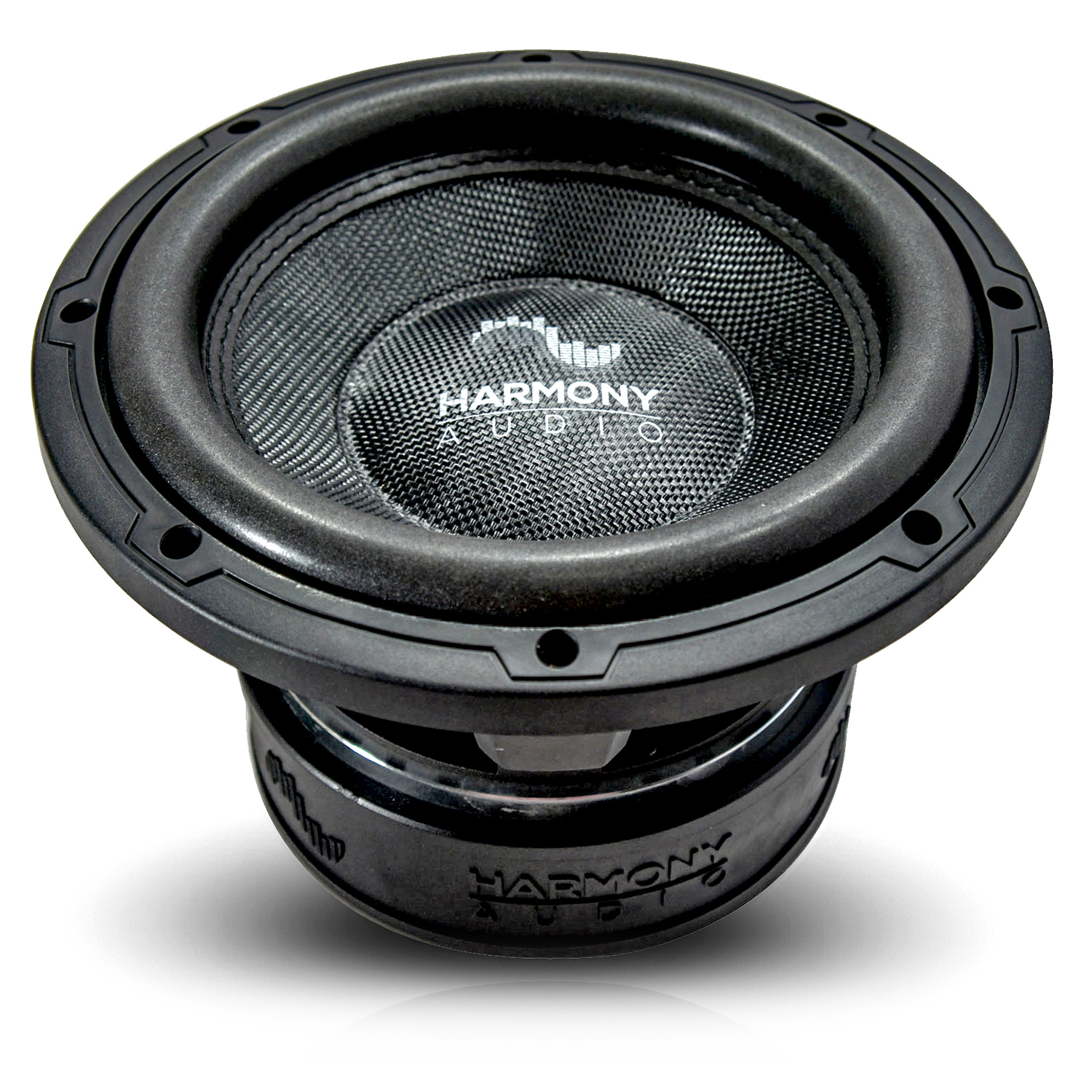 "Harmony Audio HA-C102 Car Stereo Competition Carbon 10"" Sub 2000W Dual 2 Ohm Subwoofer New"