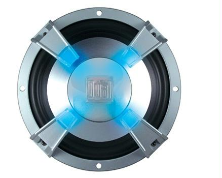 Dual XiNC110 10 Inch Illuminated Subwoofer 600 Watts