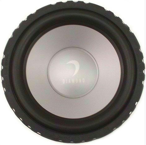 Diamond Audio D612D4 Car Audio Sub Woofer Dual 4 Ohm Speaker