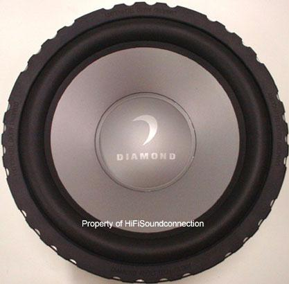 Diamond Audio M6MKII12D2 Car Audio Sub Woofer Dual 2 Ohm Speaker