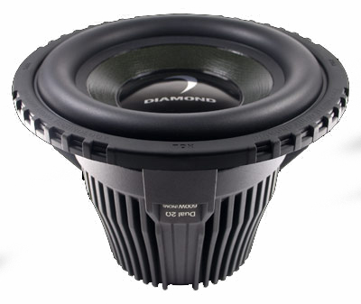 "Diamond Audio HP15 15"" 1000 Watt Subwoofer"
