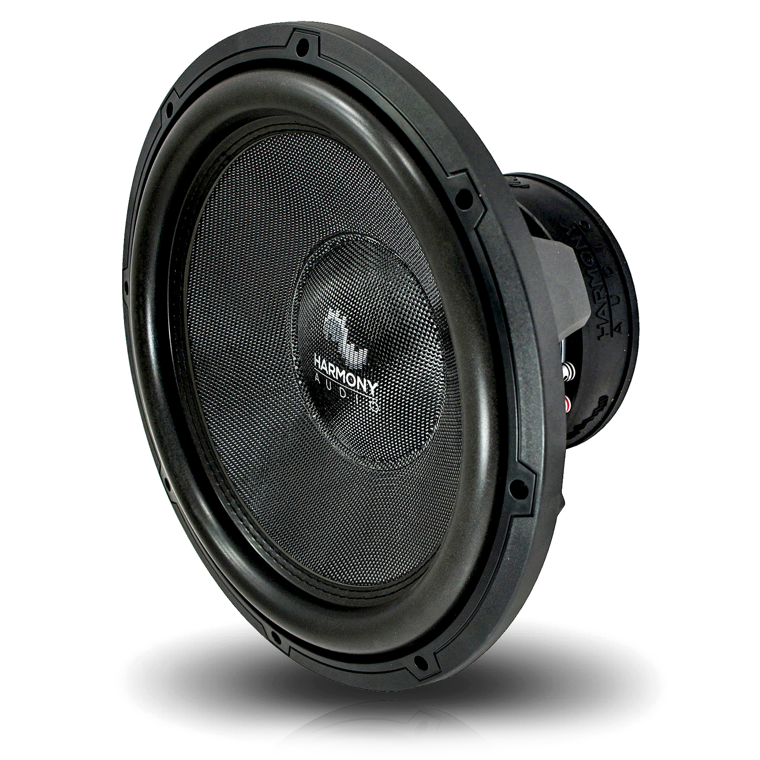 """Harmony Audio HA-C154 Car Stereo Competition Carbon 15"""" Sub 2800W Dual 4 Ohm Subwoofer New"""