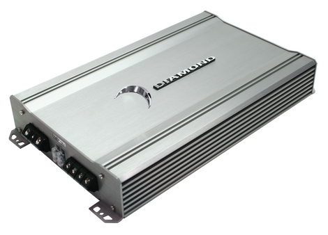 Diamond D3400.2 Car Audio D3 Series 2Ch 400 Watt Speaker Amplifier (D3 400.2)