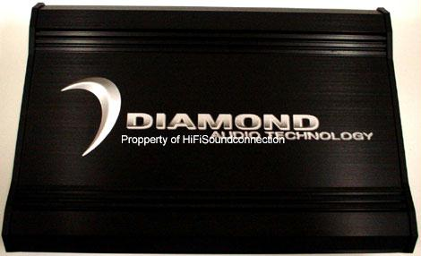 Diamond Audio D3400.2 Car Audio 2 Channel Sub Woofer Speaker Amplifier