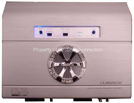 DUB Mag Audio DUB2502 2-Channel Amplifier by Audiobahn