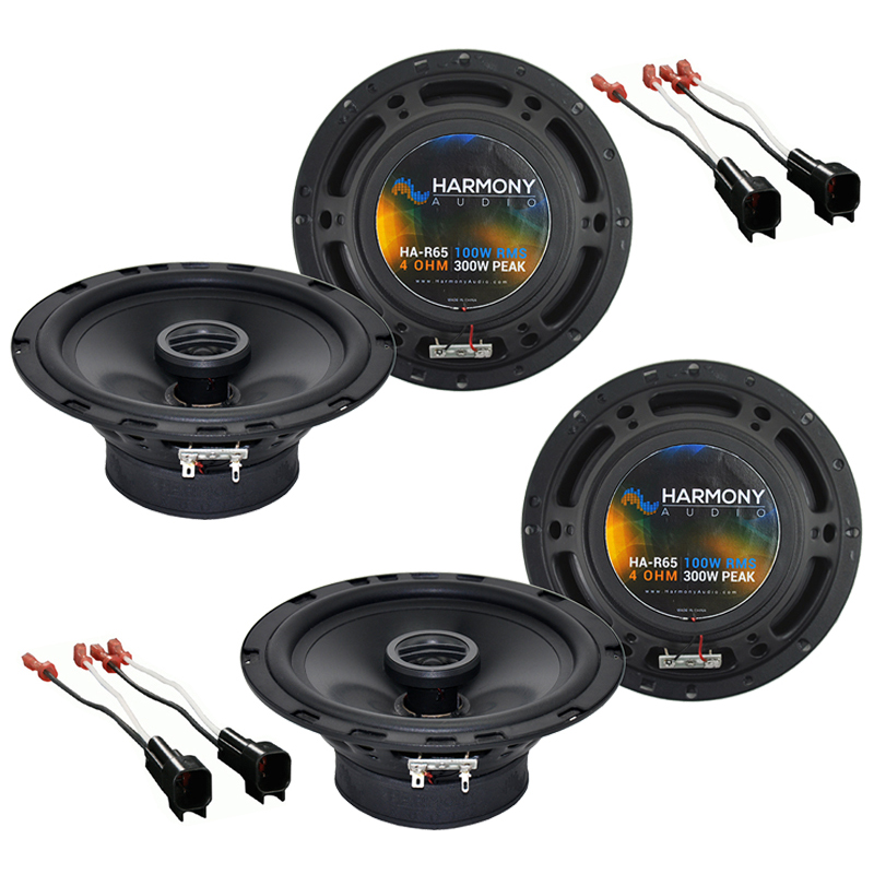 Jeep Cherokee 1997-2001 Factory Speaker Replacement Harmony (2) R65 Package New
