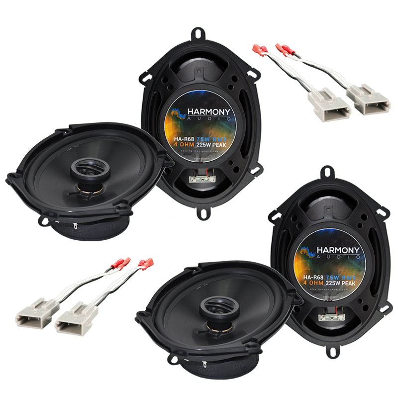 Mazda MX6 1993-1997 Factory Speaker Replacement Harmony (2) R68 Package New