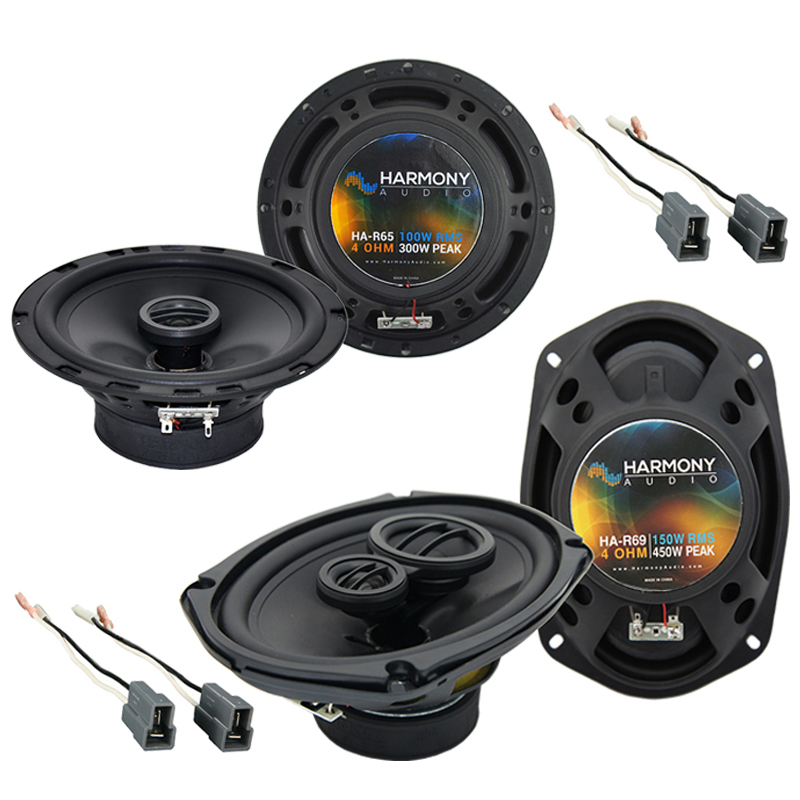Mitsubishi 3000GT 1991-1999 OEM Speaker Replacement Harmony R65 R69 Package