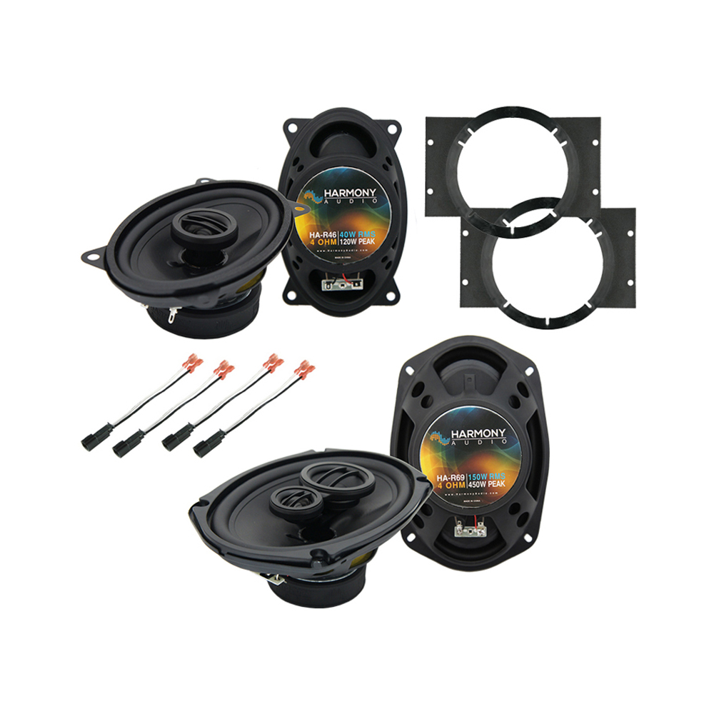 Chevy Cavalier 1995-2005 Factory Speaker Upgrade Harmony R46 R69 Package New