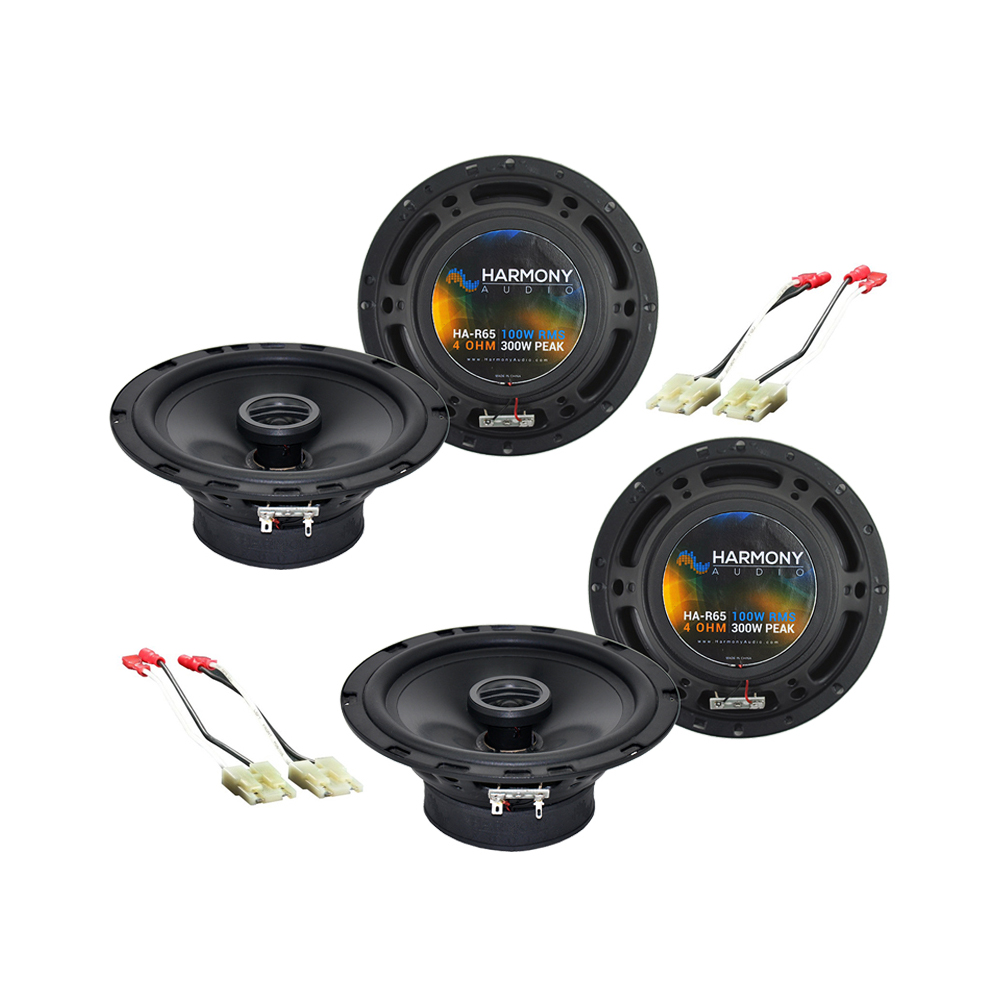 Chevy Tracker 1998-2004 Factory Speaker Replacement Harmony (2) R65 Package New