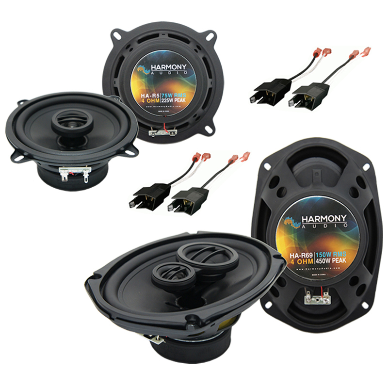 Dodge Ram Truck 1984-1993 Factory Speaker Upgrade Harmony R69 R5 Package New