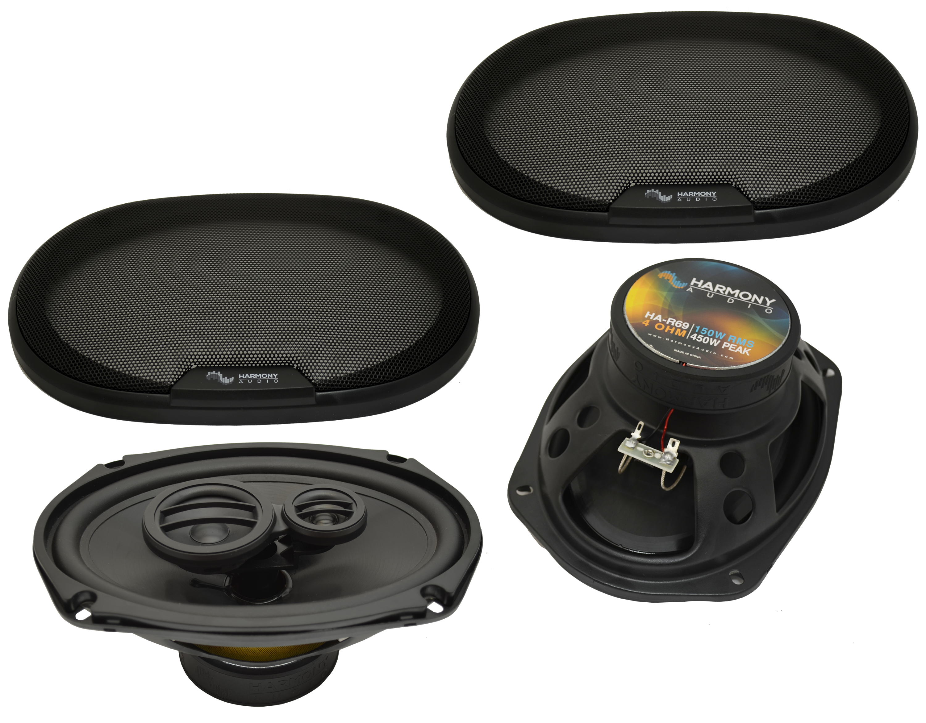 Dodge Viper 2003-2009 Factory Speaker Upgrade Harmony R69 R65 Package New