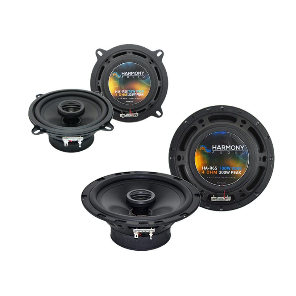 Audi A4 1996-2008 Factory Speaker Replacement Harmony R5 R65 Coax Package New