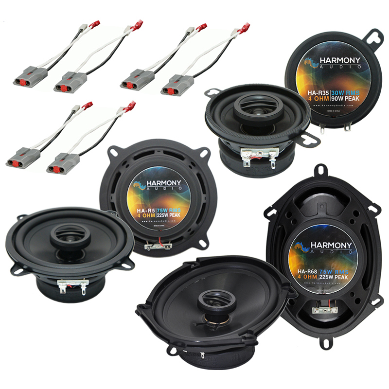 Ford Mustang 1986-1993 Factory Speaker Replacement Harmony R5 R35 R68 Pack