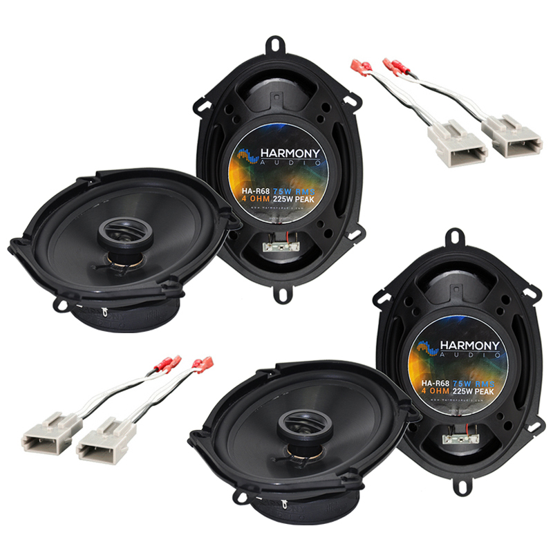Ford Mustang 1999-2004 Factory Speaker Replacement Harmony (2) R68 Package New