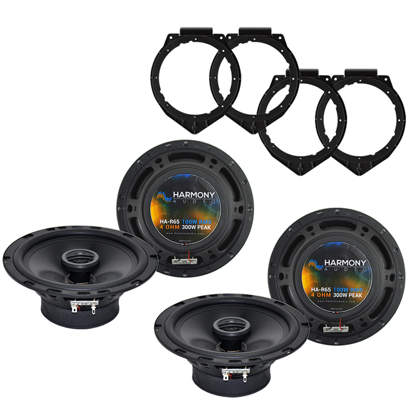 Harmony Audio Compatible With 2007-17 GMC Acadia (2) HA-R65 New Factory Speaker Replacement Upgrade Package
