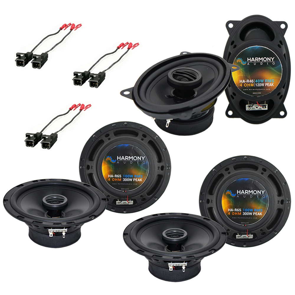 GMC Safari Mini Van 1996-2005 OEM Speaker Upgrade Harmony Speakers Package New