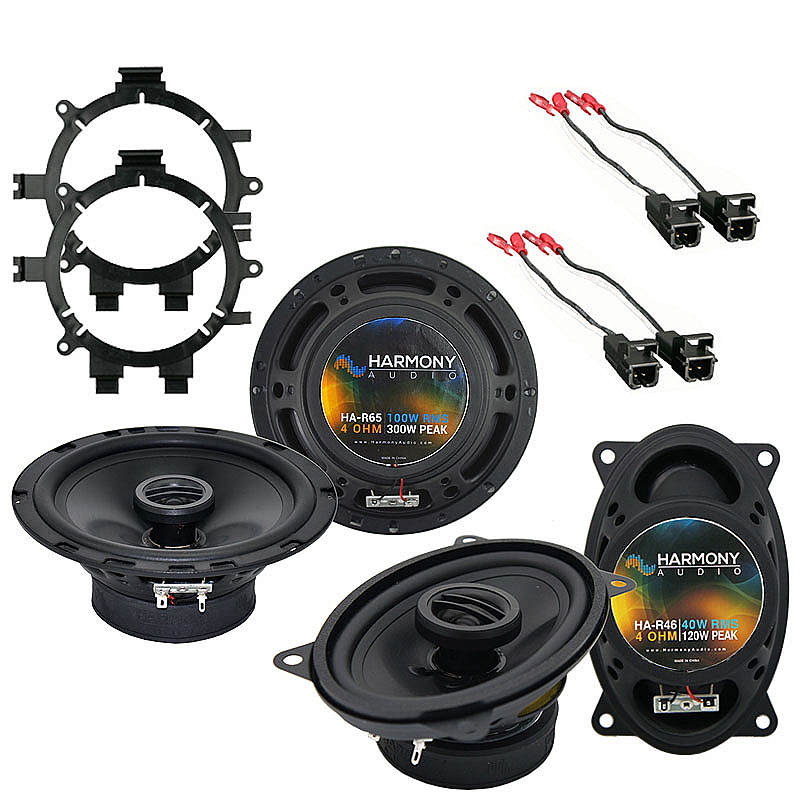 Harmony Audio Compatible With 1999-06 GMC Sierra HA-R5 And HA-R46 New Factory Speaker Replacement Upgrade Package