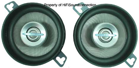 """Infinity 32.7cf Car Audio 3 1/2"""" Coaxial Two-Way Speakers New"""