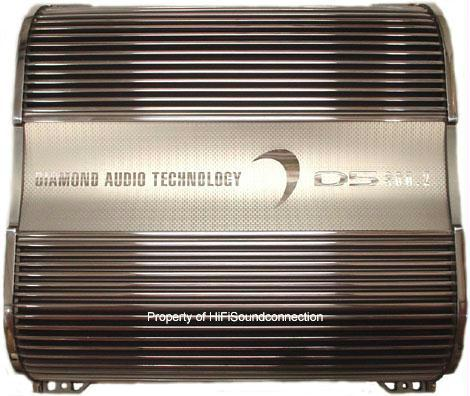 Diamond Audio D5300.4 300 Watt 4 Channel Amp Car Audio Amplifier