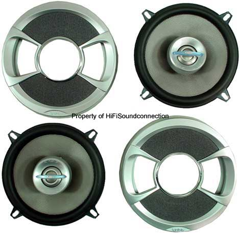 "Infinity 42.7i Car Audio 4"" Coaxial Two-Way Speakers New"