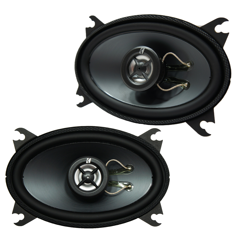 "Kicker 11KS46-N Car Audio 4x6"" 2-Way 60W KS Series Coaxial Speaker Pair"