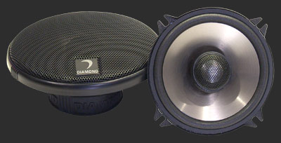 "Diamond Audio D352i Car Audio D3 Series Coaxial 5"" Speakers"