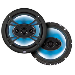 Dual SBX554 Car 5.25 Inch 4-Way Door Speakers