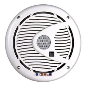 Dual DMS651 Marine Audio 6.5 Inch Boat 2-Way Speakers