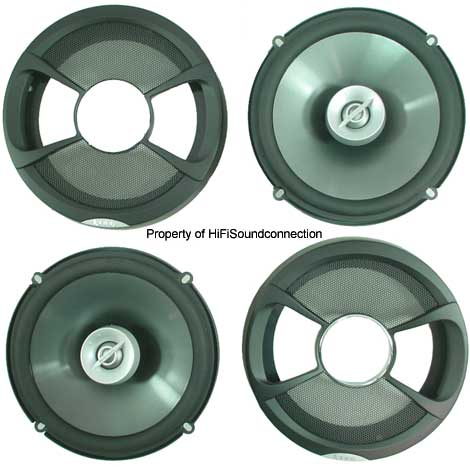 "Infinity 6012si Car Audio 6 1/2"" Coaxial Two-Way Speakers"