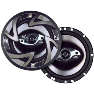 Dual DS653 Car 6.5 Inch 3-Way Door Speakers 150W