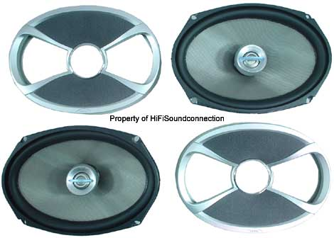 """Infinity 692.7i Car Audio 6 x 9"""" Coaxial Two-Way Speakers New"""