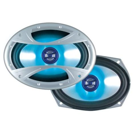 Dual XIN6X92 Car 6x9 Inch 2-Way Deck Speakers 150W