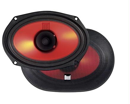 Dual XS69 6 X 9 Car Audio Speakers 160 Watts