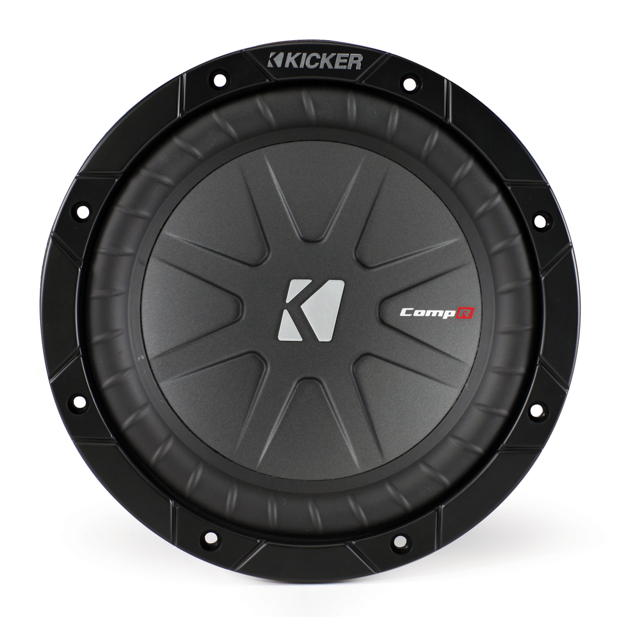 Kicker Car Audio Cwr8 Compr 8 Inch Subwoofer Speaker 600w Peak 4 Power Acoustik Equalizer Wiring Diagrams Ohms Dvc 40cwr84