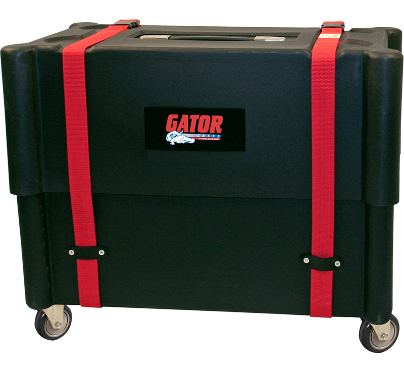 Gator Cases G-212-ROTO Combo Amp Transporter / Molded Plastic Stand 2X12