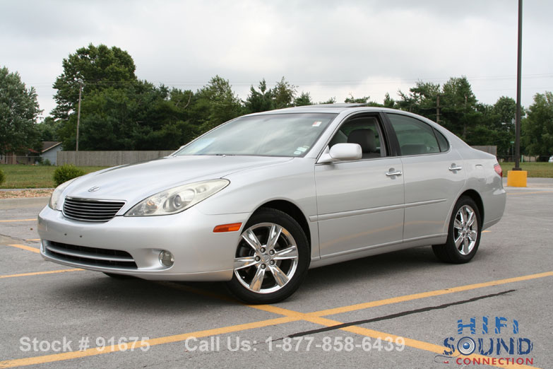 2005 lexus es330 chrome wheels heated cooled seats roof clean pwr shade 11972 91675. Black Bedroom Furniture Sets. Home Design Ideas