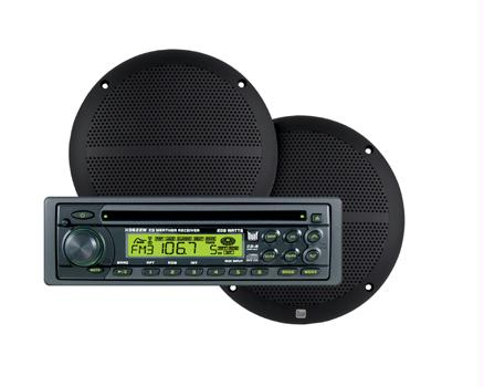 Dual CP6260W AM/FM/CD WEATHER RECEIVER & 6.5 SPEAKERS