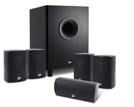 Dual LHT3000B 6-Piece Home Theater In a Box Black