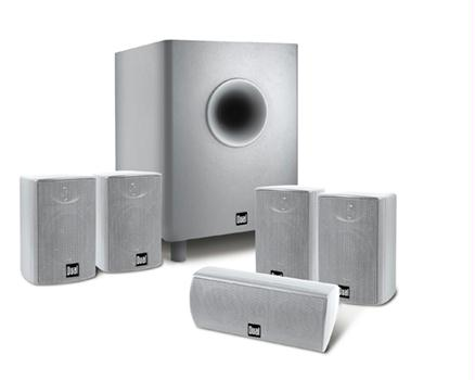 Dual LHT3000S 6-Piece Home Theater In a Box Silver