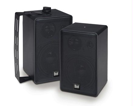 Dual LU40PB 3-Way Indoor/Outdoor Loudspeakers