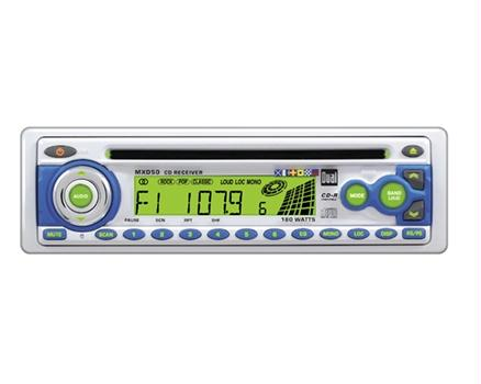 Dual MXD50 AM/FM/CD Marine Receiver W/ Fixed Face