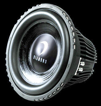 DIAMOND AUDIO TDX-10D2 800 WATT CAR AUDIO SUB SUBWOOFER