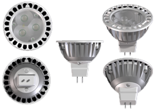 Elation ASM4402 4,000k 25 Deg 4.5W Led Lamp
